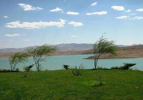 دریاچه سد زاینده رود