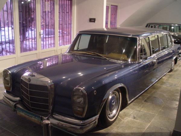 38 موزه اتومبیل های سلطنتی سعدآباد