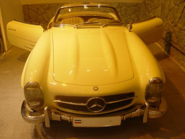 39 موزه اتومبیل های سلطنتی سعدآباد