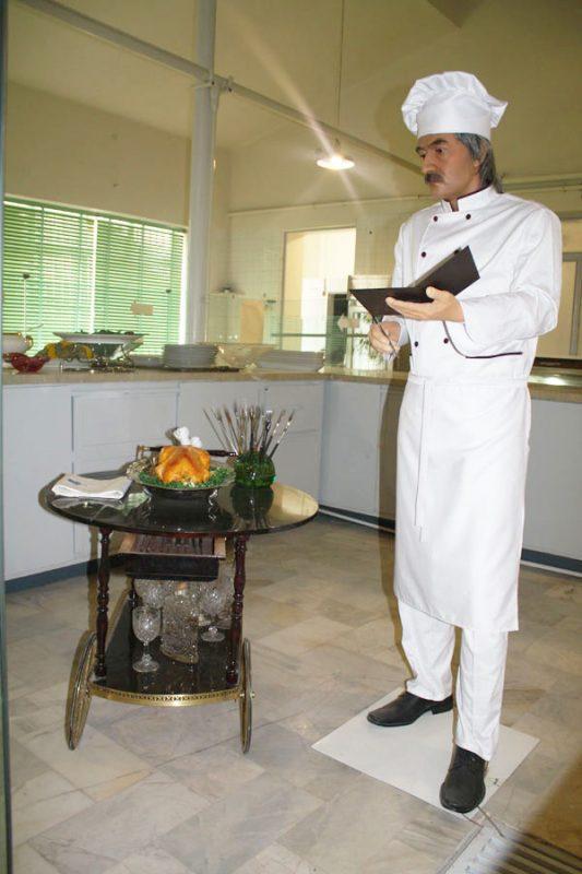 46 موزه آشپزخانه سلطنتی سعدآباد