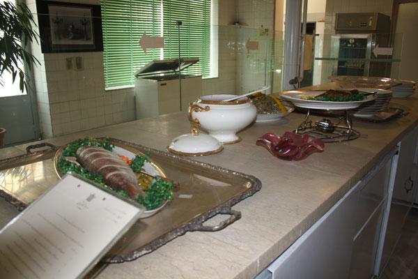 47 موزه آشپزخانه سلطنتی سعدآباد