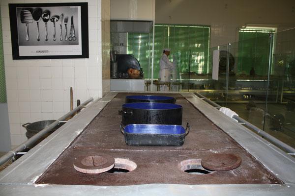 54 موزه آشپزخانه سلطنتی سعدآباد