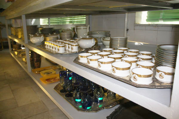 55 موزه آشپزخانه سلطنتی سعدآباد