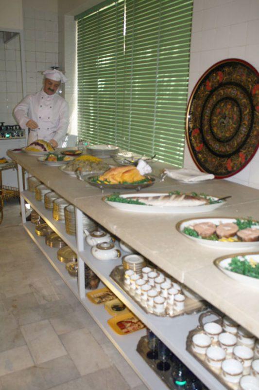57 موزه آشپزخانه سلطنتی سعدآباد