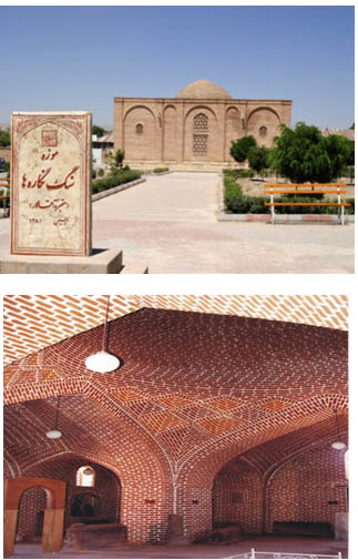 as10 مقبره آقالار ( موزه سنگنگارهها )