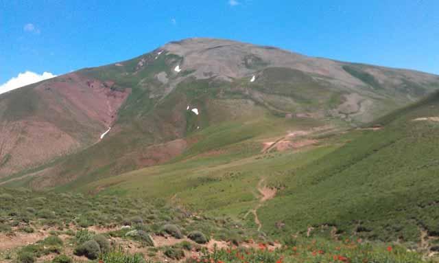 کوه سلطان سنجر زنوز