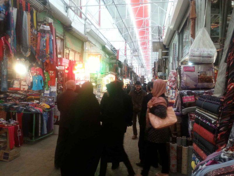 11 بازار چهارسو بناب
