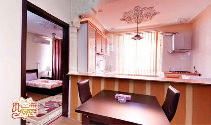17 هتل آپارتمان یاس بوشهر