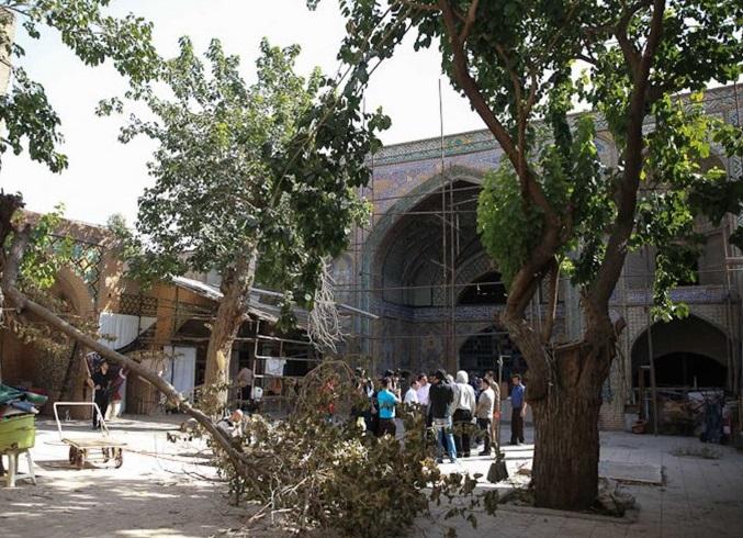 4 مسجد حاج رجبعلی