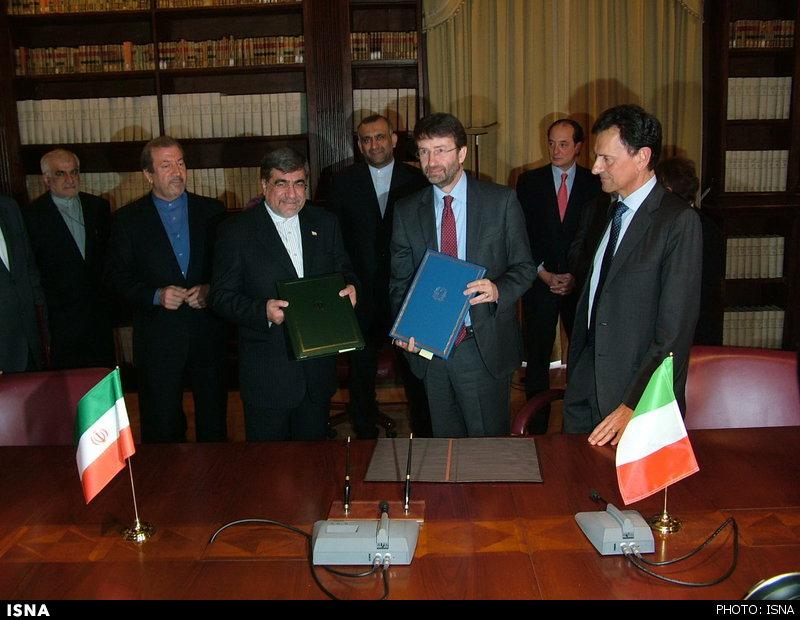 797 توافقنامه فرهنگی، هنری و گردشگری بین ایران و ایتالیا