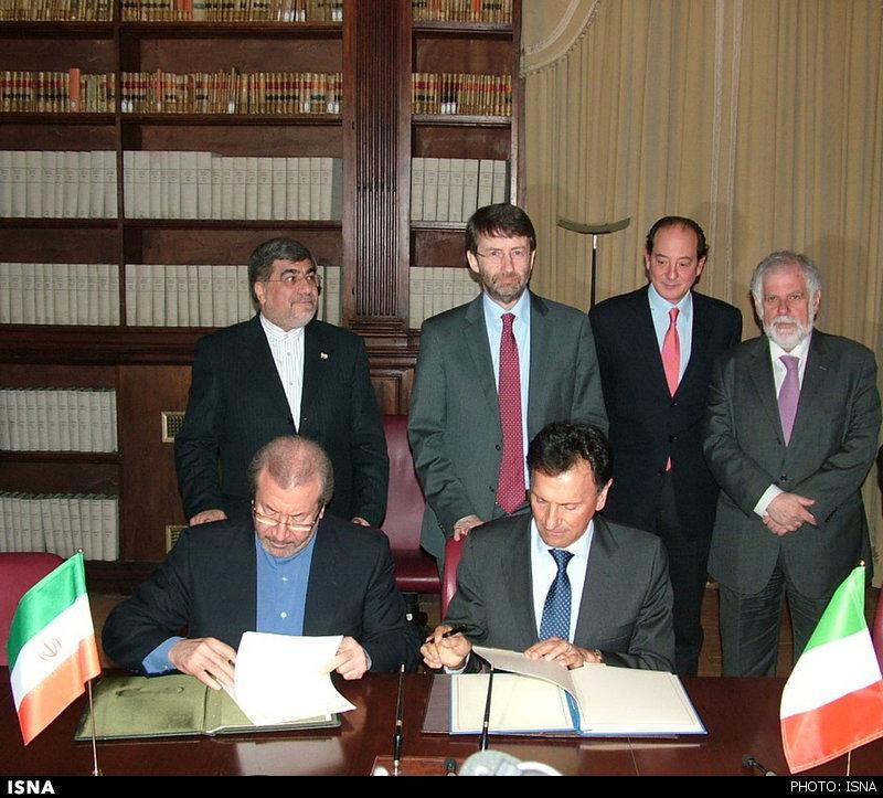 799 توافقنامه فرهنگی، هنری و گردشگری بین ایران و ایتالیا