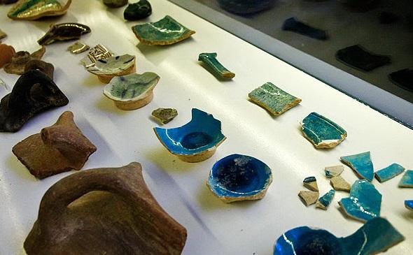 موزه سنگ و سفال قزوین