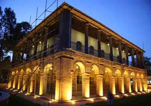 92 عمارت باغ سپهدار قزوین