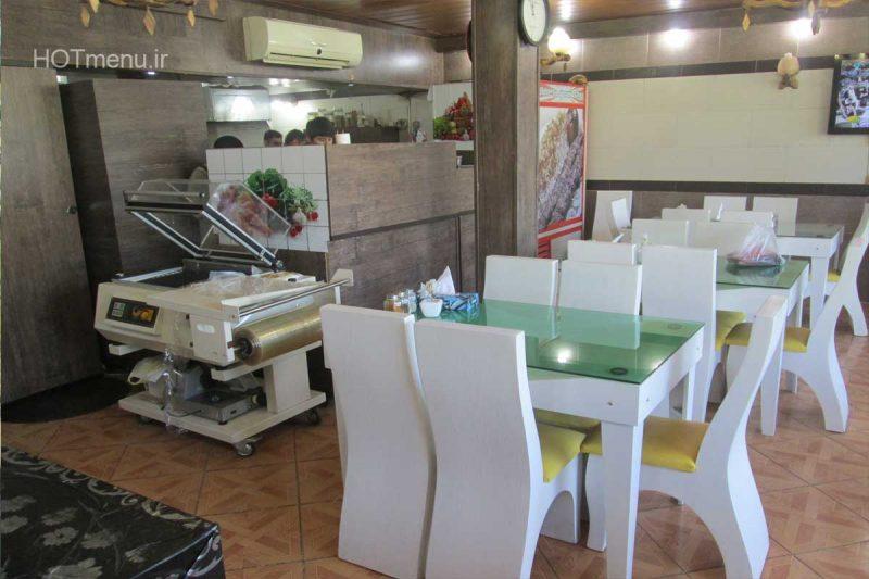 تادینا-2 رستوران تادینا کرج