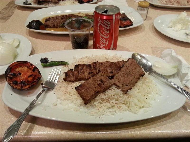 رستوران باختر تبریز