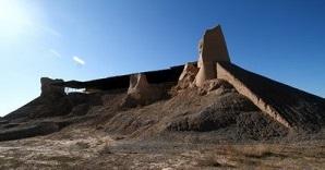 1118 بقایای مسجد تابران توس