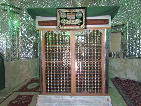 2 امامزاده علی اصغر (ع) آلارد
