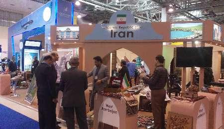 نمایش ظرفیت های گردشگری ایران در نمایشگاه بین المللی جمهوری آذربایجان