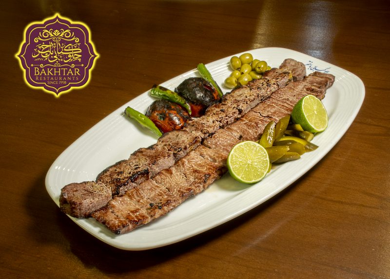 کباب برگ رستوران باختر