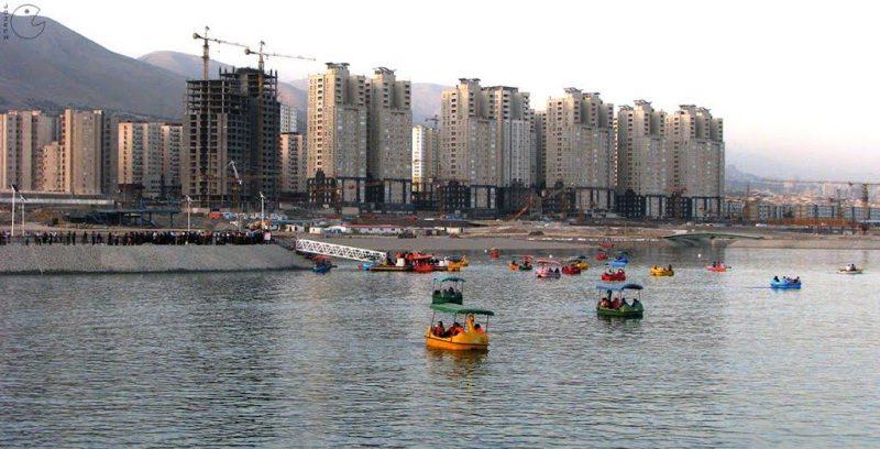 جاهای دیدنی تهران دریاچه مصنوعی شهدای خلیج فارس جاهای دیدنی تهران (100 جاذبه گردشگری تهران)