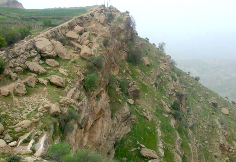 1610 آبشار طوف خیمه سوق