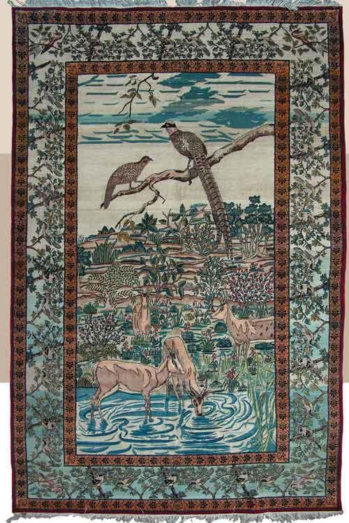 1660 فرش کرمان