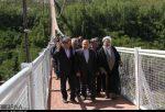 بزرگترین پل معلق خاورمیانه در مشگین شهر به بهره برداری رسید