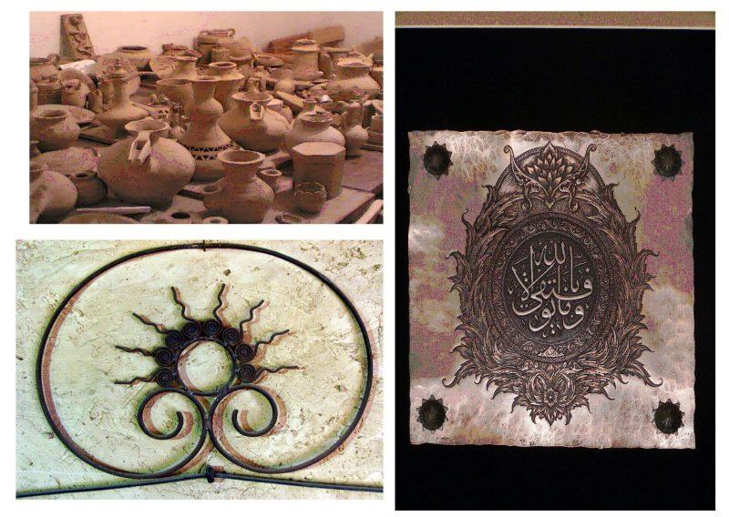 8 صنایع دستی ساوه