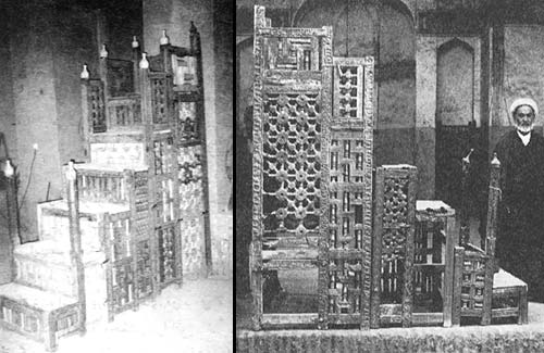 2057 منبر چوبی 900 ساله