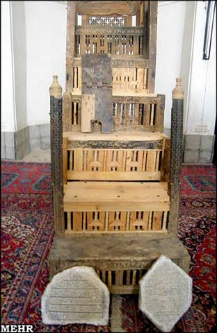 2060 منبر چوبی 900 ساله