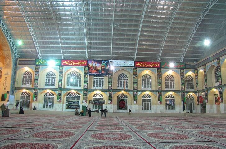 هشتی حسینیه علیاء ندوشن
