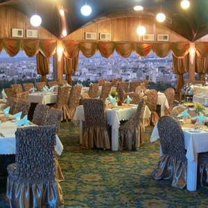 رستوران گردان هتل آسمان اصفهان