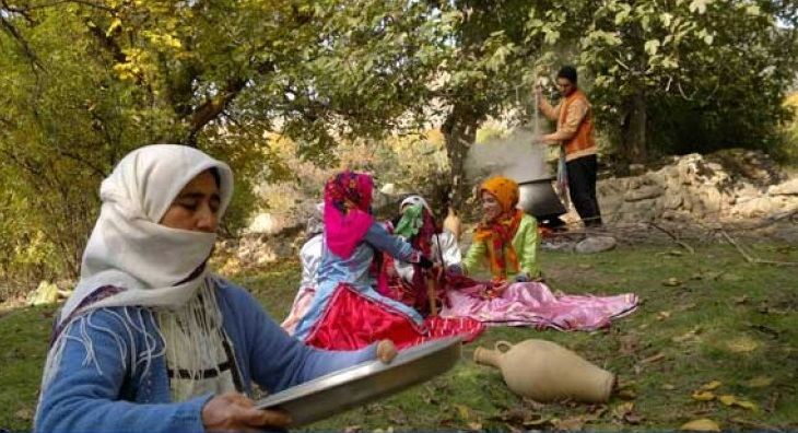317 مراسم آئینی باران خواهی در زنجان
