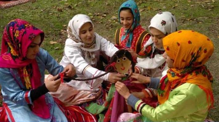 323 مراسم آئینی باران خواهی در زنجان