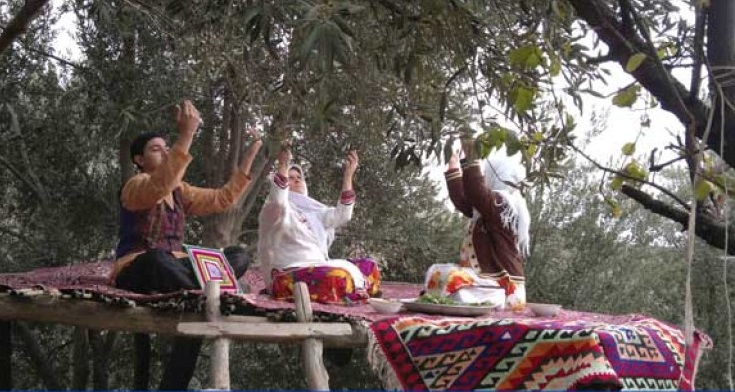 327 مراسم آئینی باران خواهی در زنجان