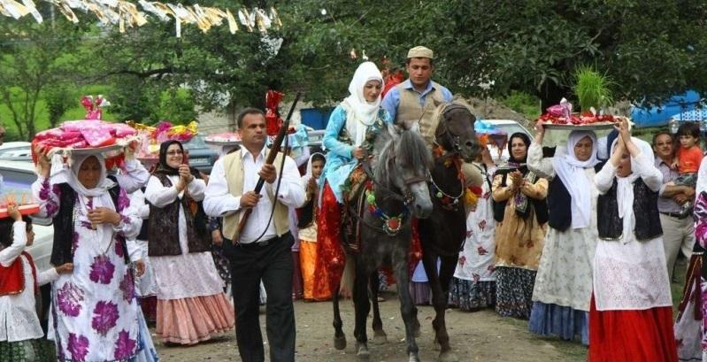372 مراسم عروسی سنتی در تالش