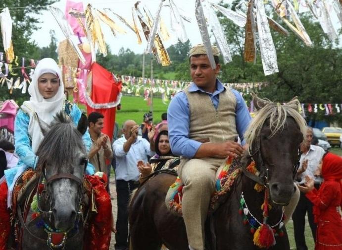 374 مراسم عروسی سنتی در تالش