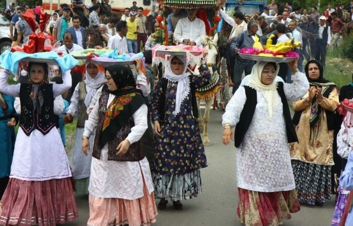 375 مراسم عروسی سنتی در تالش