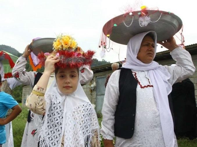 377 مراسم عروسی سنتی در تالش