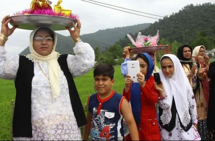 378 مراسم عروسی سنتی در تالش