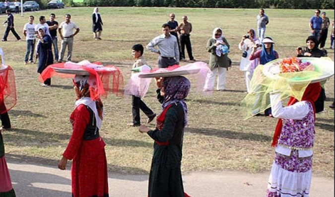 713 جشن نشا در نوشهر
