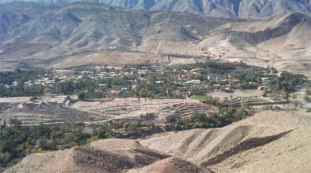 86 روستای بادنجان