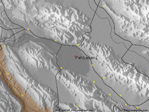 map روستای پهوانی