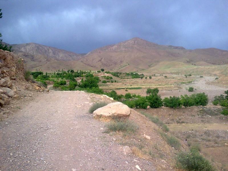 عکس ها و معرفی درگِدر روستای گِسک شهر صفی آباد خراسان شمالی