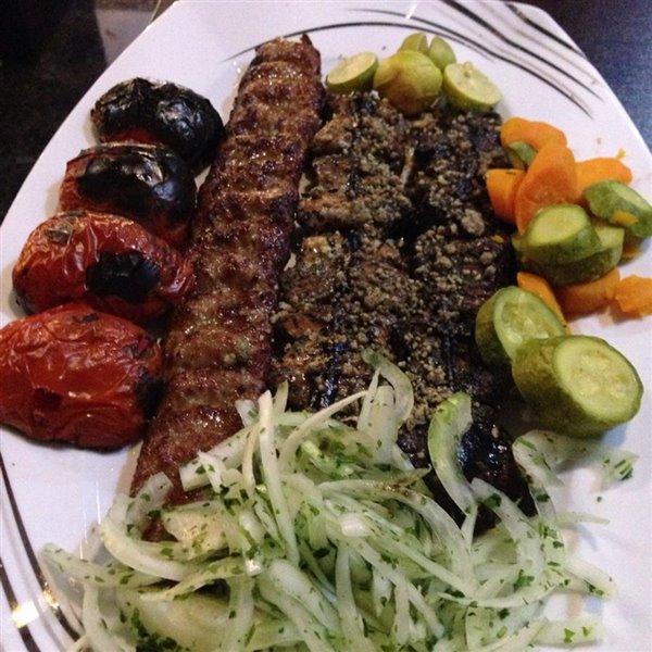 رستوران کاسپین تهران