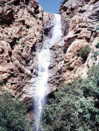 150 آبشار قمش