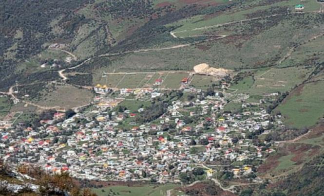 روستای سنگ چال