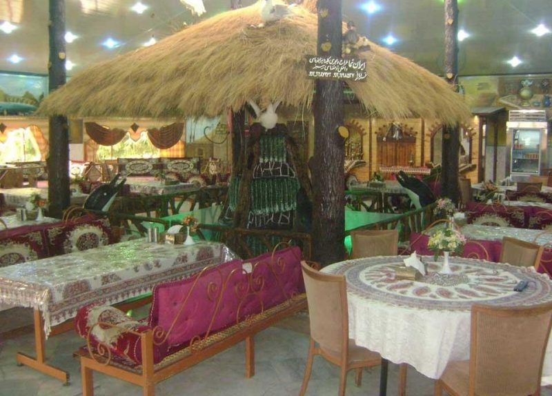 ارم 2 رستوران سنتی باغ ارم کرج