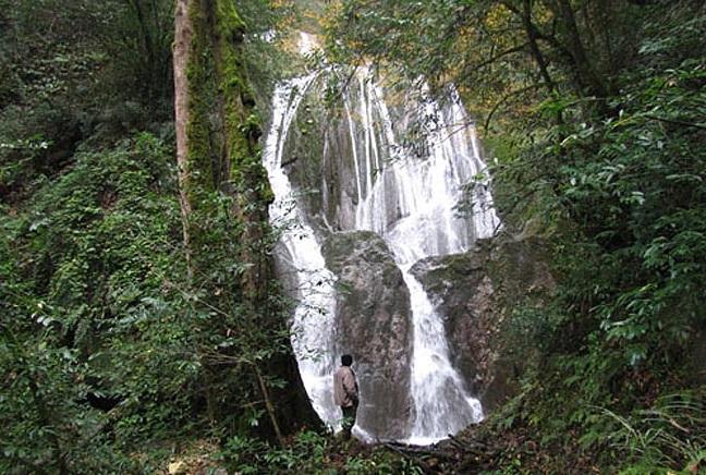520 آبشار کلیره