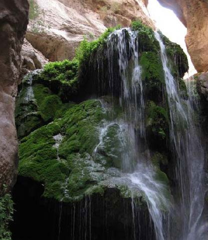 593 آبشارهای تنگه رغز